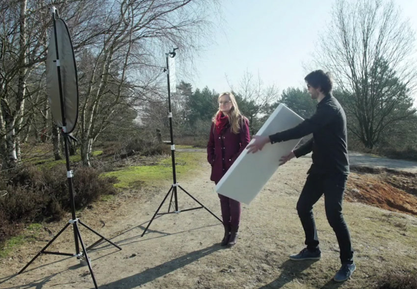 How to create cheap and flexible outdoor video lighting the course also details various lighting setups and helps you create your own tools workwithnaturefo