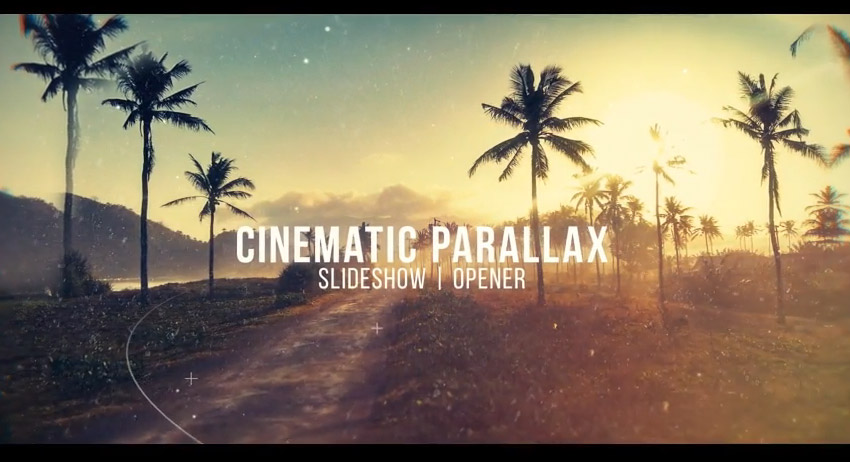 10 Top Parallax Photo Animation Video Templates for After