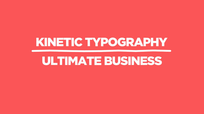 Kinetic Typography