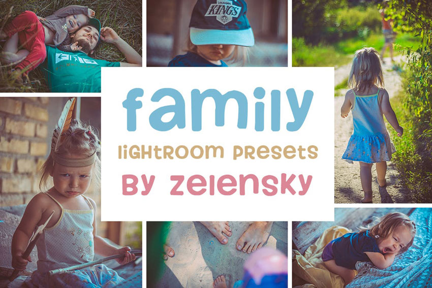 Family  Children Lightroom Presets