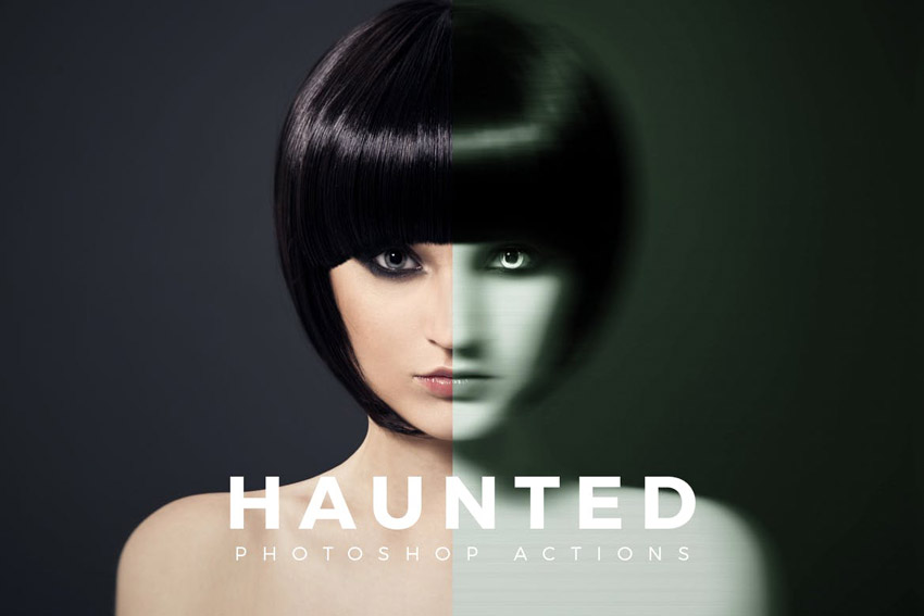 Haunted Photoshop Actions