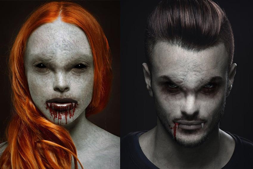 Vampire Photoshop Action