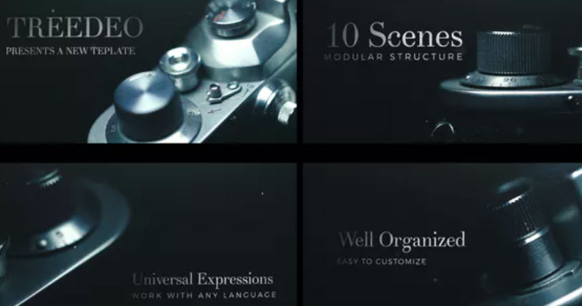 Cinematic Title Sequence