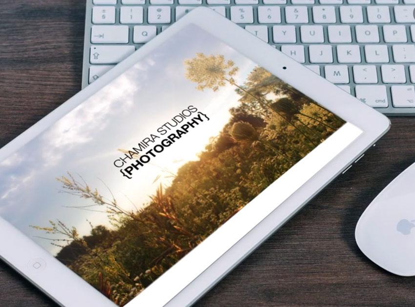how to make a photography portfolio pdf