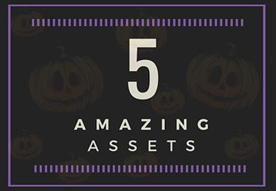 5 amazing assets halloween