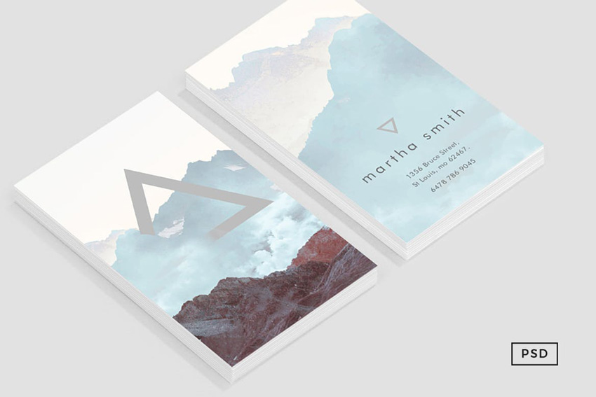 Conquer Business Card Template