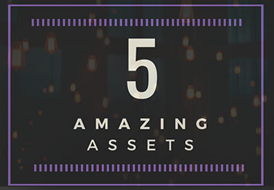 5 amazing assets light preview