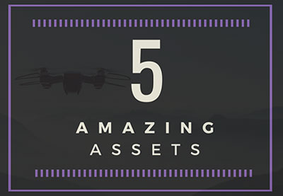 5 amazing assets drone preview