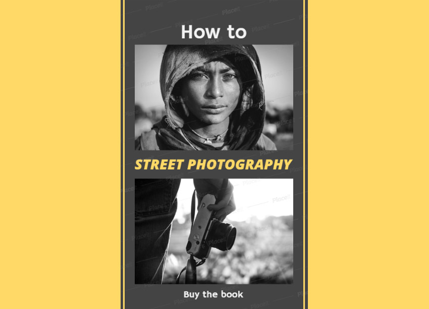 Instagram Story Maker for Street Photography