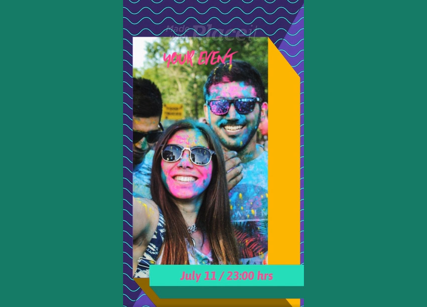 Instagram Stories Animation Maker for Events