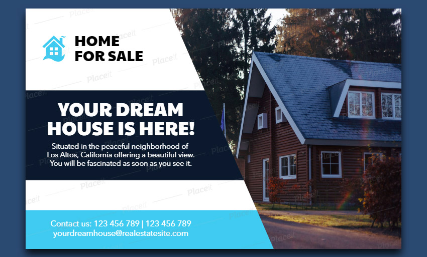 Real Estate Agency Flyer Maker