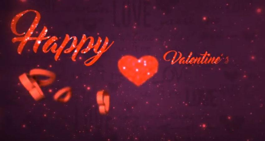 Valentines Day Logo 3in1