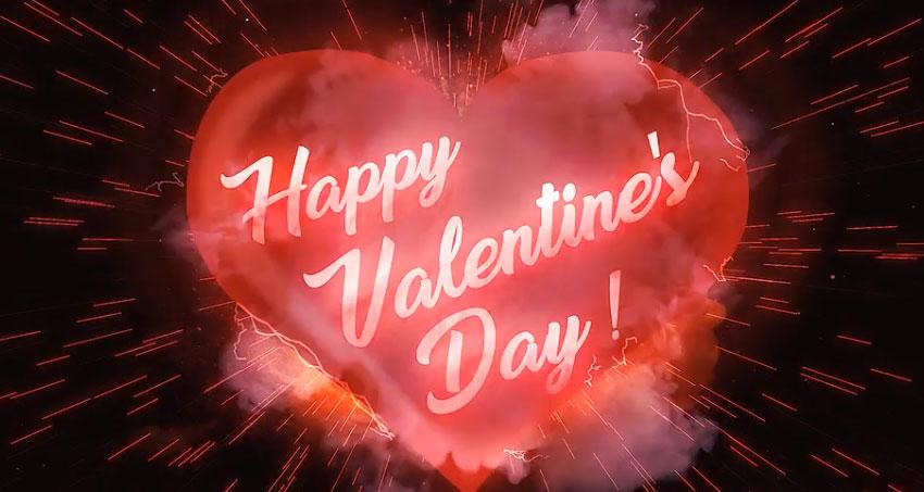 Valentines Day Love Logo