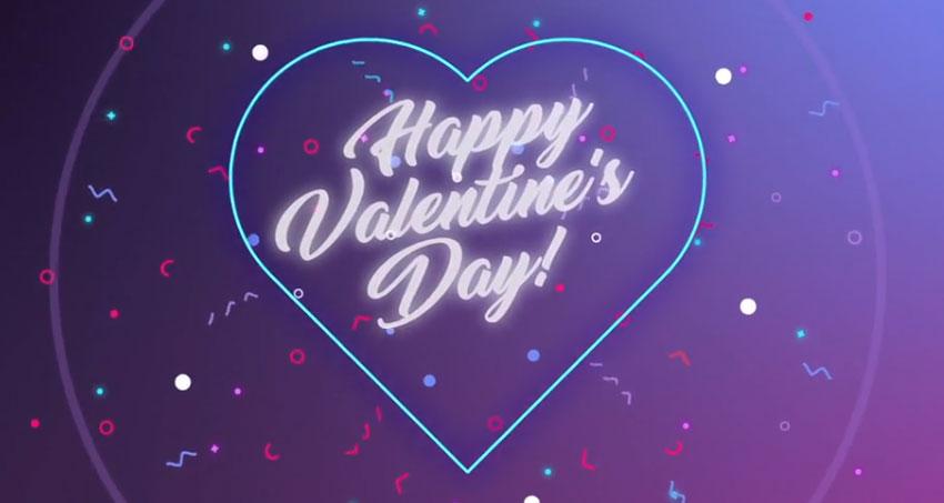 Happy Valentine logo