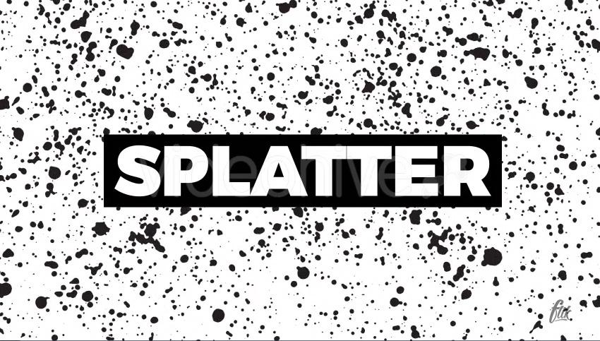 Splatter Textures