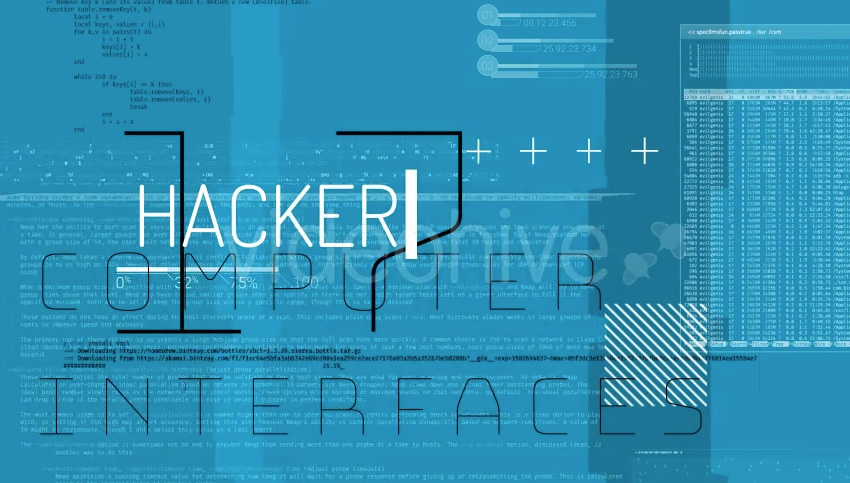 Hacker Textures And Elements Of Code