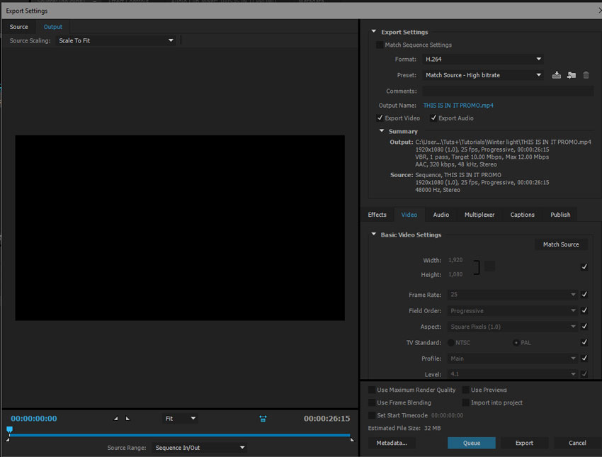 Video Export: How to Get The Best Results in Premiere Pro