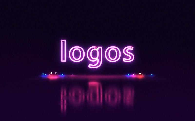 Neon Logo  Titles