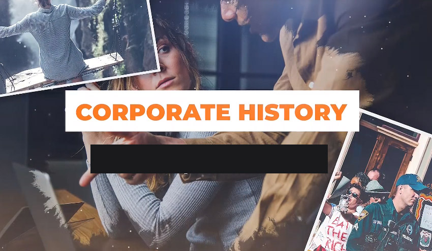 Corporate History Corporate History is a modern ta