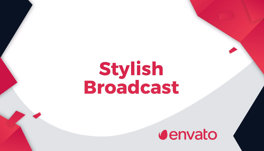 Stylish Broadcast Pack  Essential Graphics  Mogrt