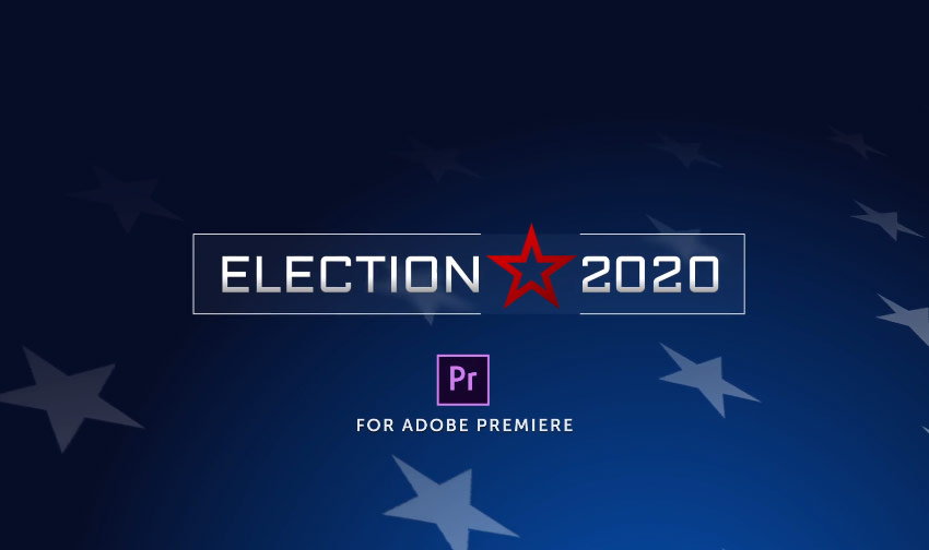 Election Essentials 2020  MOGRT for Premiere