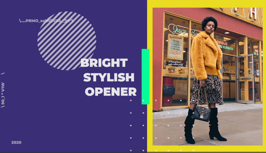 Bright Stylish Opener for Premiere Pro