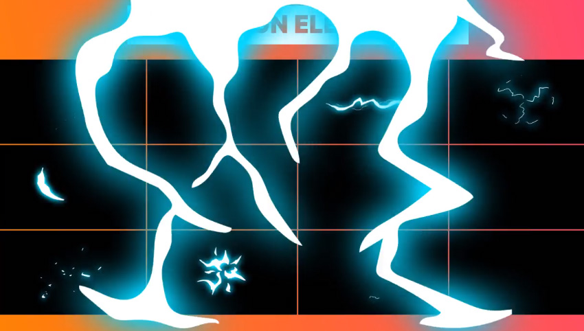 Cartoon Electric Elements And Titles  After Effects