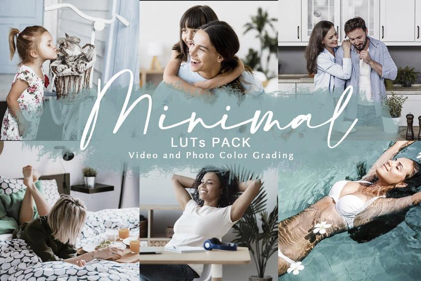 MINIMAL - LUTs Pack  Color Grading