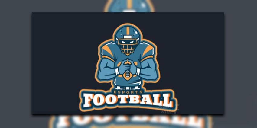 eSports Football Logo