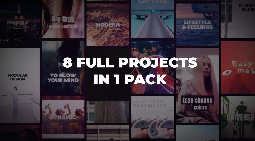 Instagram Slideshow Pack - IGTV Post Stories