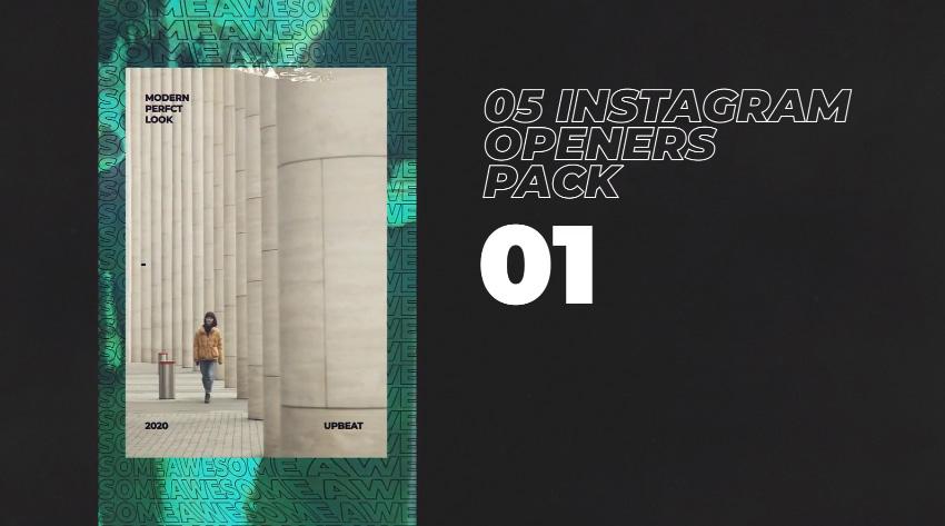 IGTV Instagram Openers Pack