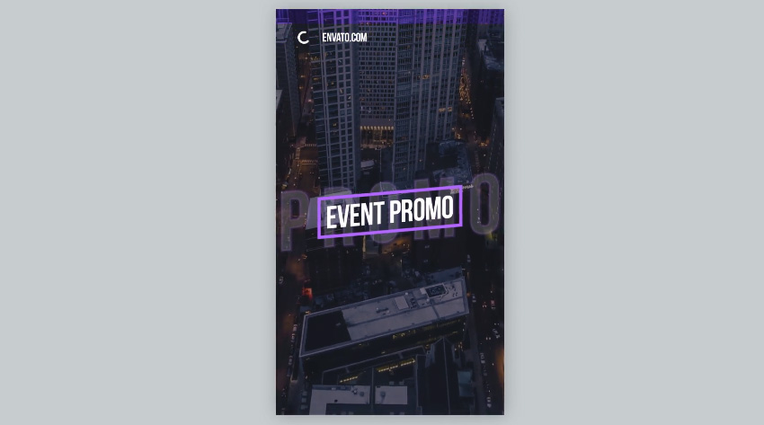 IGTV  Stylish Event Promo  Vertical and Square