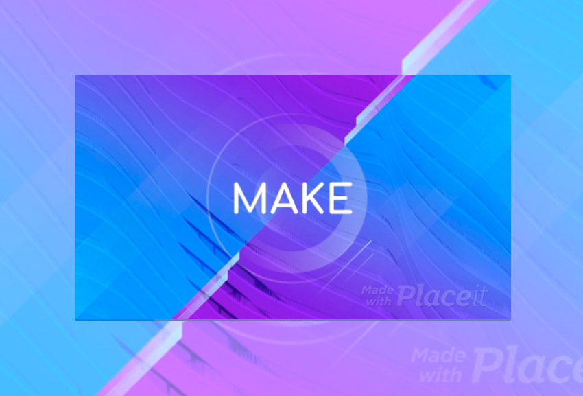 Slideshow Video Maker with Futuristic Animations