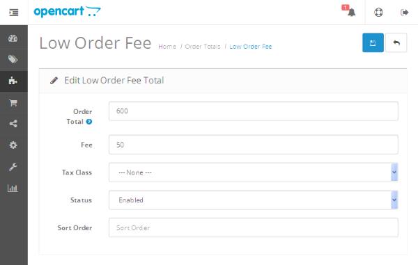 Low Order Fee