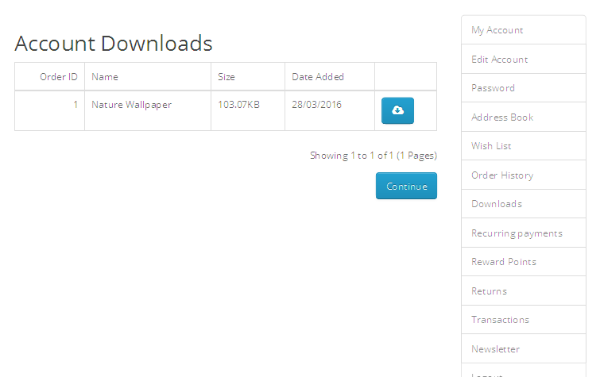 Active Downloads