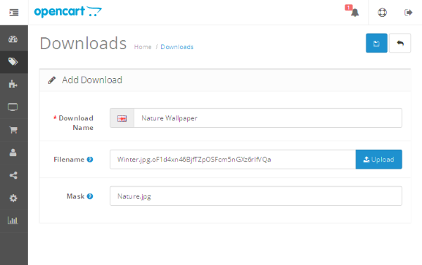 Add Download