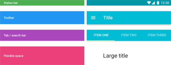Scrolling Techniques for Material Design