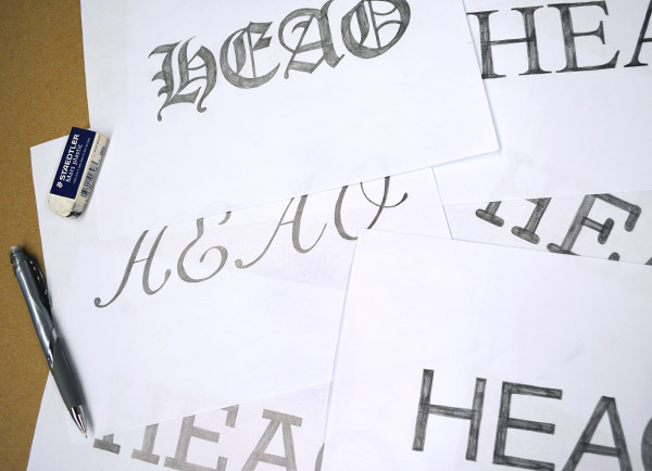Hand Lettering: Understanding Types of Type