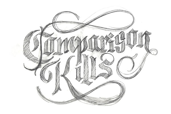 TutsPlus_Final_Lettering_Project_2nd_Rough_Pencil_Sketch