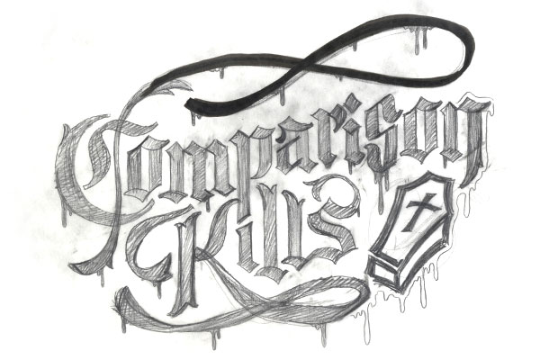TutsPlus_Final_Lettering_Project_3rd_Tight_Pencil_Sketch