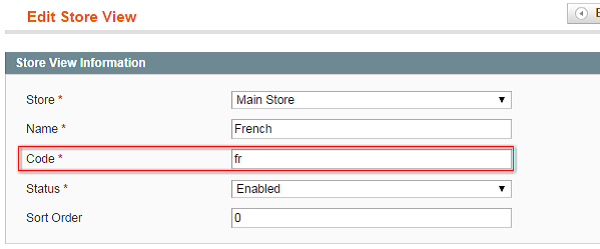 Magento Finding Store View Code