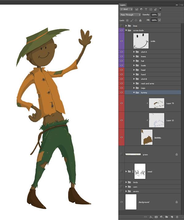 Scarecrow Base