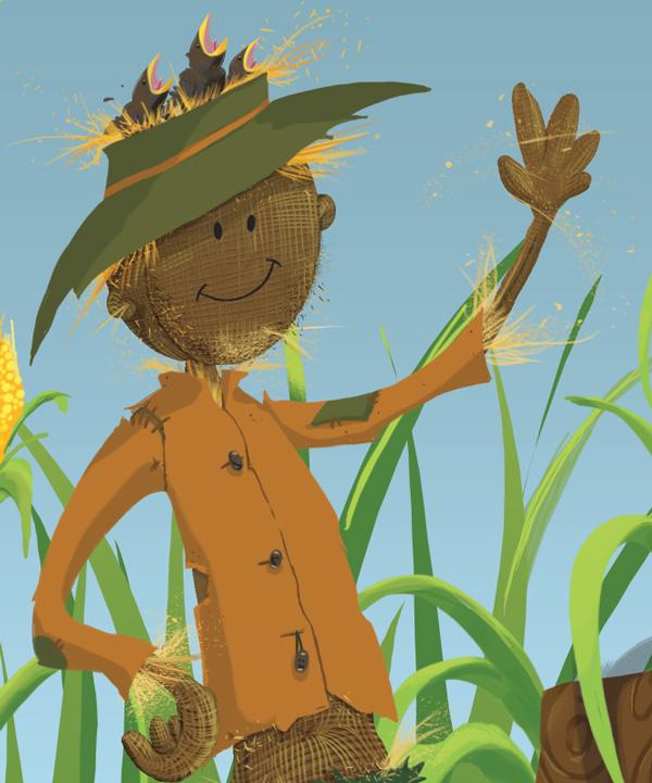 Scarecrow Straw Stubble
