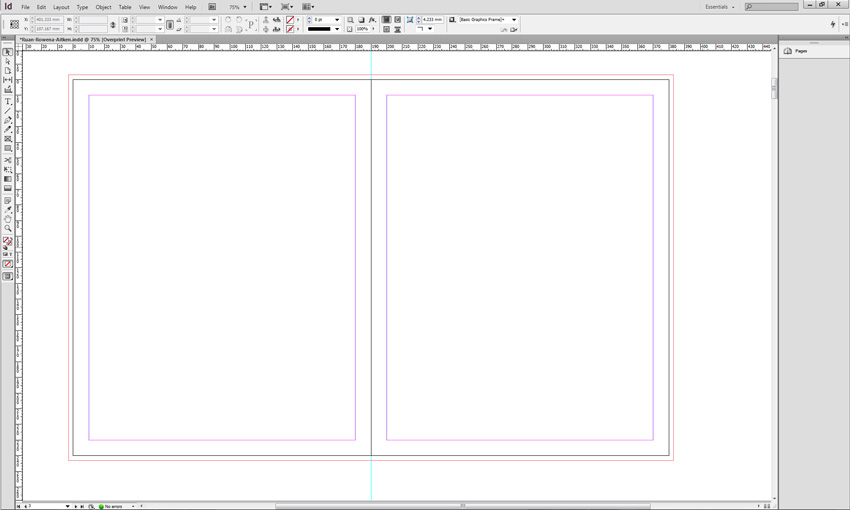 InDesign Spead Base