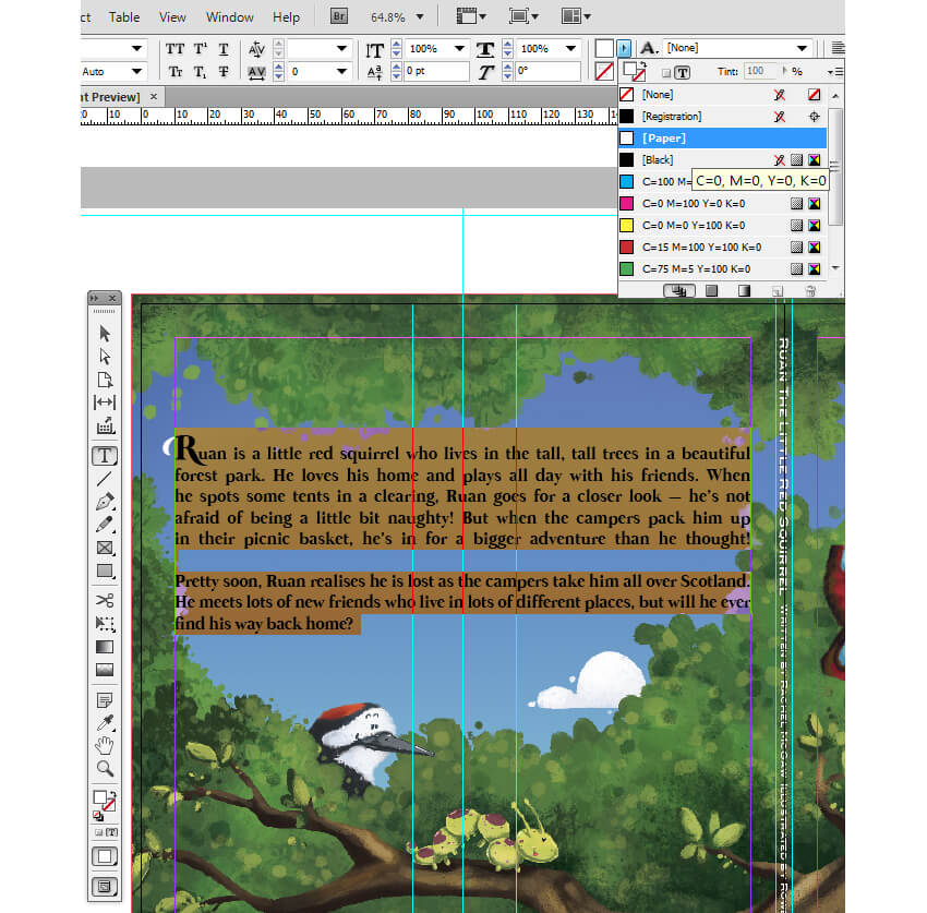 How to design a childrens book cover and internal pages ruan blurb change to paper fandeluxe Choice Image