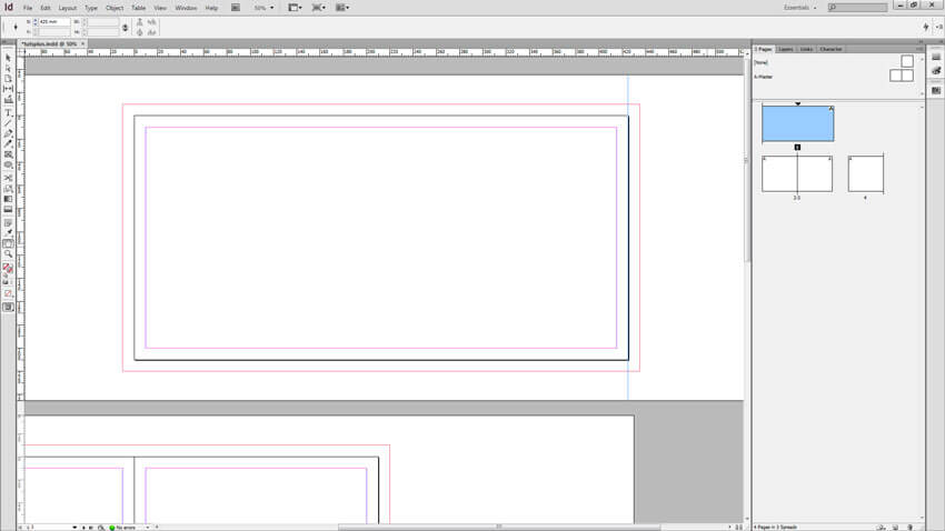 export pdf file print images overlap next page indesign