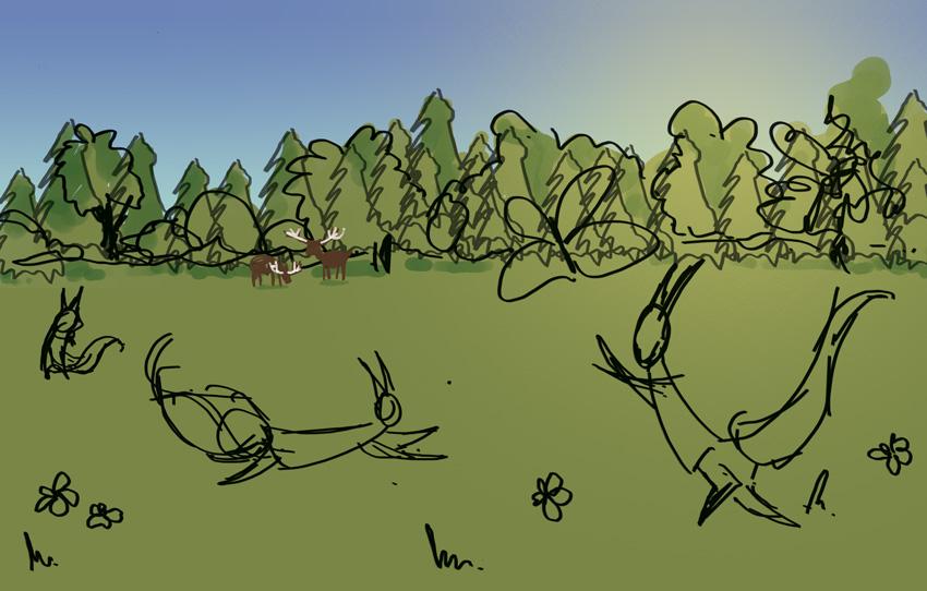 Ruan Deer - Rough COlour