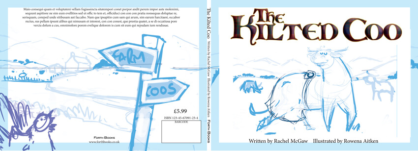 The Kilted Coo - Layout Plan - Page Layout Design