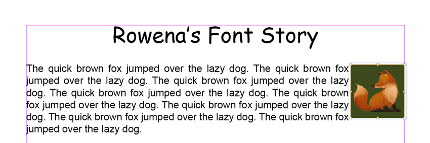 InDesign CC Book Layout - Text Wrap Settings Set to 3mm
