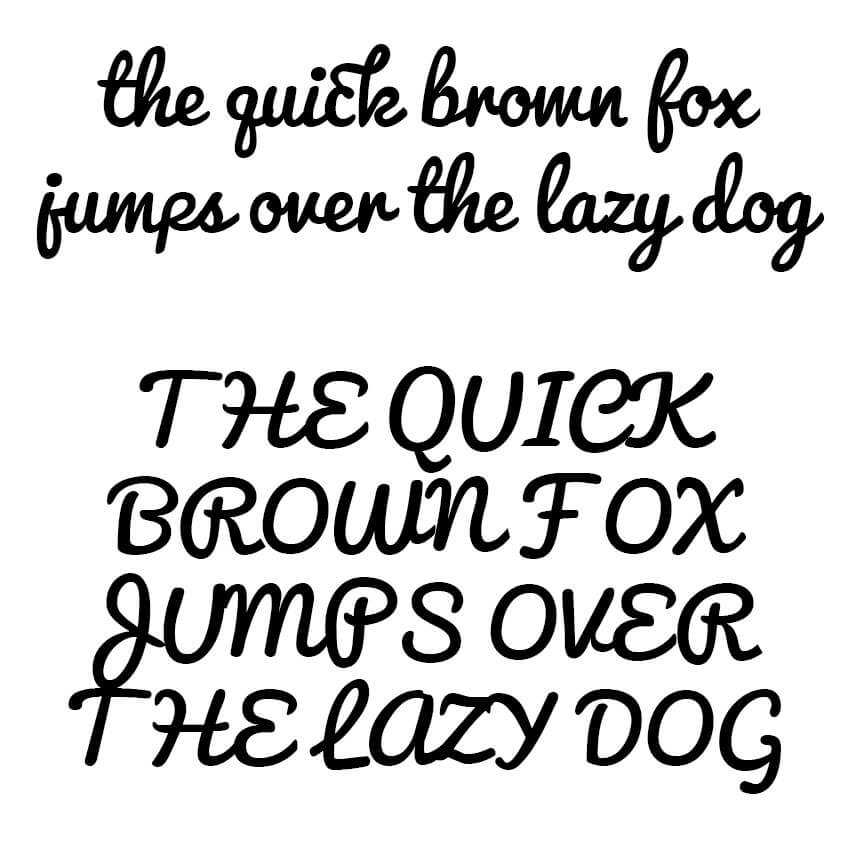 The Quick Brown Fox - Pacifico Sample